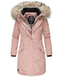 Premium ladies winter parka Daylight - Rosa