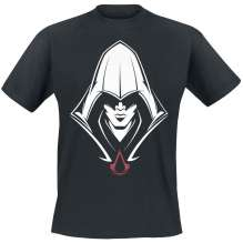 T-shirt ASSASSIN'S CREED - BLACK HOODED ASSASSIN T-SHIRT