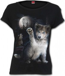 Ladies T-shirt WOLF PUPPY
