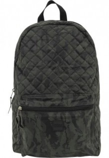 Diamond Quilt Leather Imitation Backpack