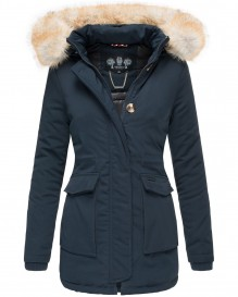 Navahoo ladies Winter jacket Schneeengel - Blue