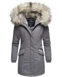 Navahoo ladies Winter jacket Cristal - Grey
