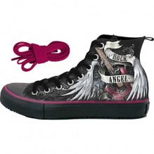 ROCK ANGEL - Sneakers - Ladies High Top Laceup
