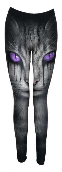 Leggings CAT'S TEARS - Allover Comfy Fit Leggings