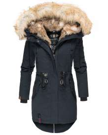 Ladies winter parka Bombii - Navy