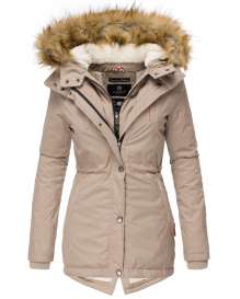 Marikoo ladies Winter jacket Akira - Taupe