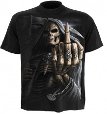 T-shirt Bone Finger