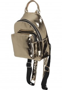Mini Metallic Backpack