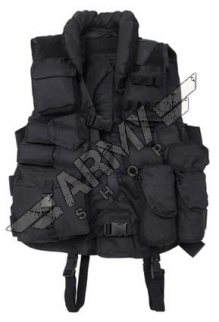 Tactical Vest with leather