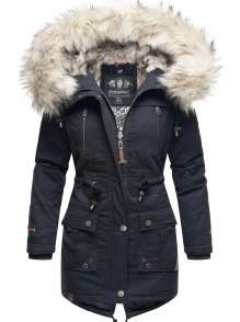 Navahoo Ladies Winter Parka Honigfee - Navy