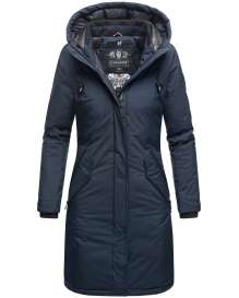 Navahoo Ladies Winter Parka Letiziaa - Navy