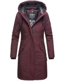 Navahoo Ladies Winter Parka Letiziaa - Wine