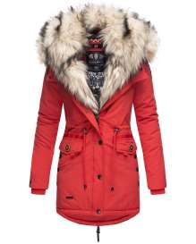 Navahoo ladies winter parka SWEETY Princess - Red