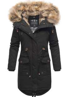 Navahoo Ladies Winter Parka Rosinchen - Black