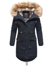 Navahoo Ladies Winter Parka Rosinchen - Navy