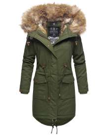 Navahoo Ladies Winter Parka Rosinchen - Olive