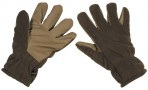 Fleece Gloves - Windproof - Olive