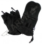 Fleece thumb-finger gloves - Black